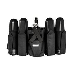 Field Harness 4+1 Vertical (black)