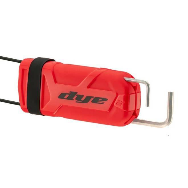 Dye Barrel Sock Flex (red)