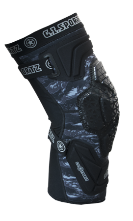 GI Sportz Race Knee Pads (black)