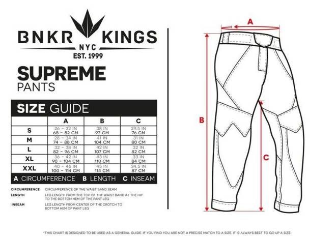 Pants Bunkerkings V2 Supreme black