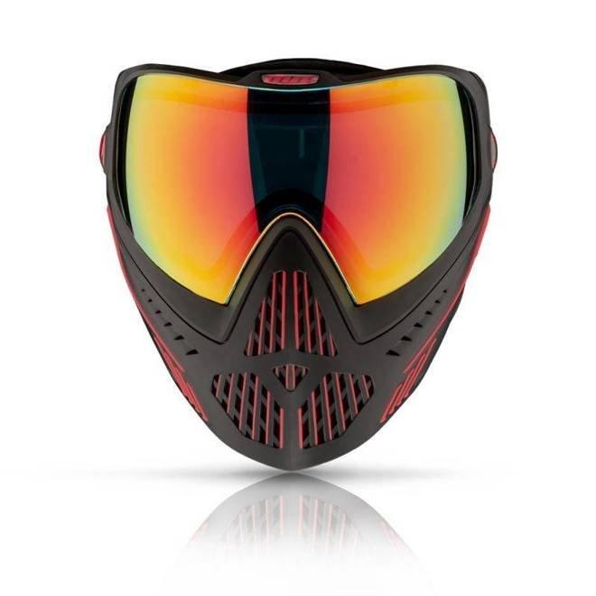 Maska DYE I5 Fire (black/red)